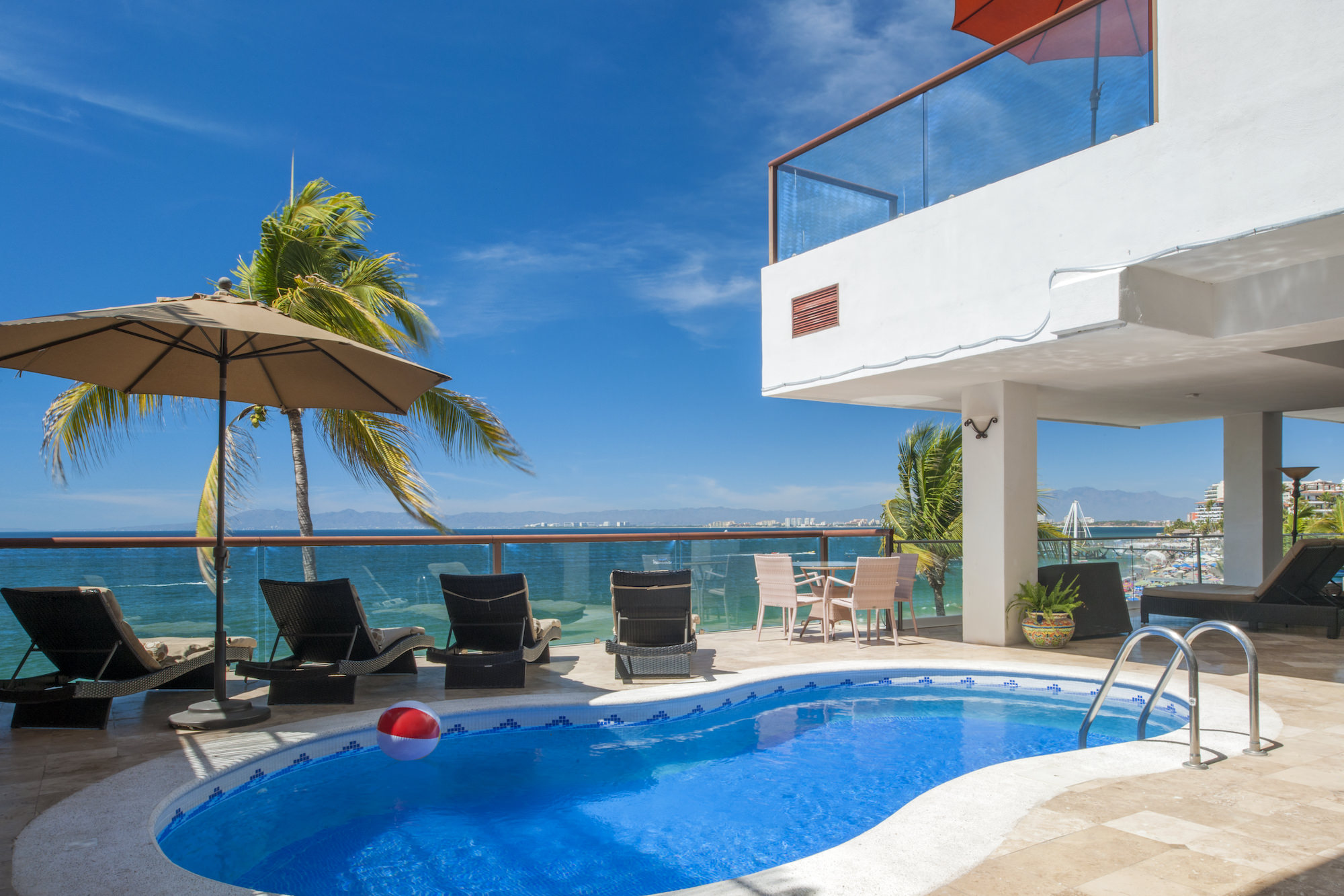 beachfront sky suites in puerto vallarta